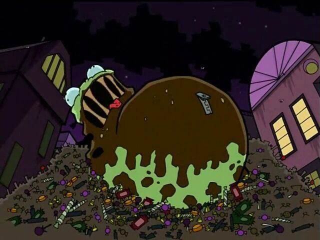 Bloated Gir the Candy Hutt Dog