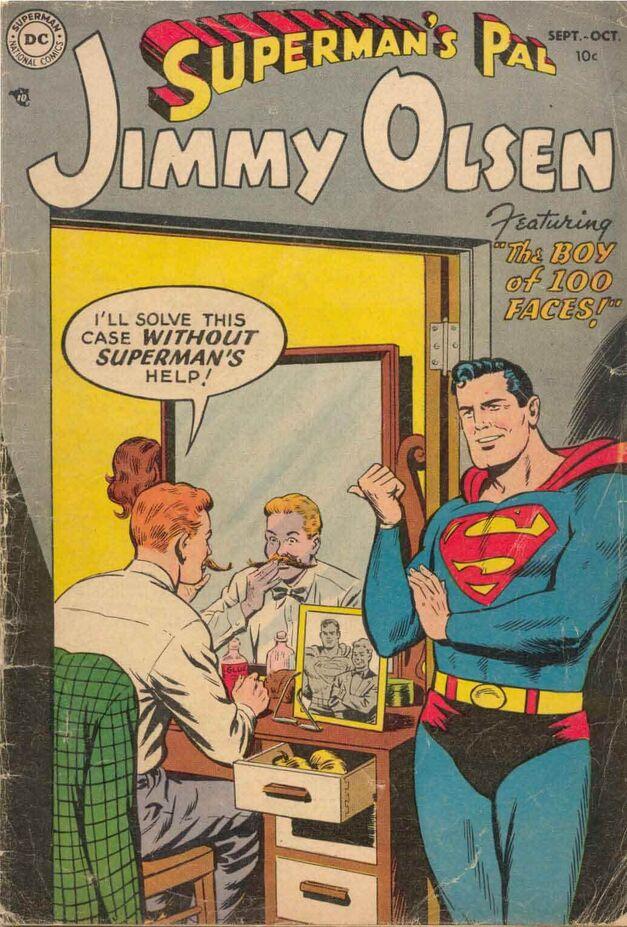 Jimmy Olsen #1 Cover