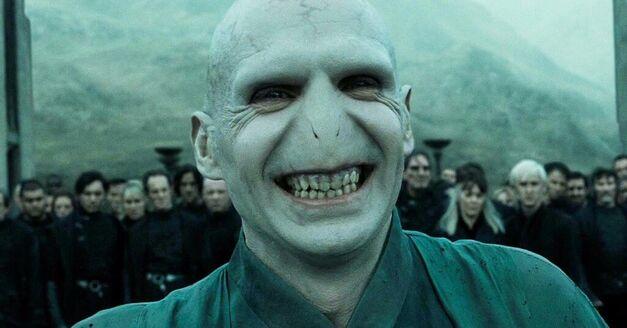 voldemort smiles