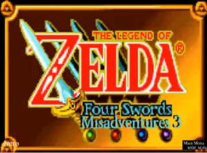 Four Swords Misadventures Episode 3 Logo