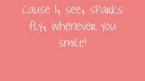 Sparks Fly-Taylor Swift w lyrics (ORIGINAL LIVE VERSION)