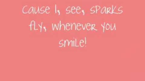 Sparks Fly-Taylor Swift w lyrics (ORIGINAL LIVE VERSION)