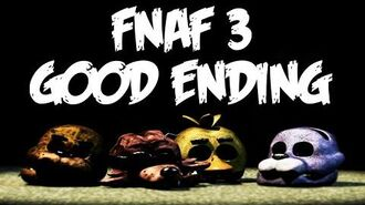 DOBRE ZAKOŃCZENIE! GOOD ENDING! FIVE NIGHTS AT FREDDY'S 3!