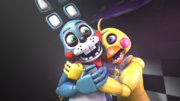 Sfm fnaf toy bonnie x toy chica by pft production-d8r5prk