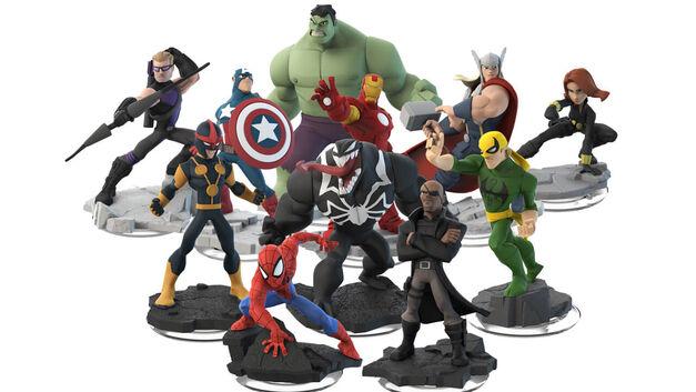 Disney Infinity Characters Marvel