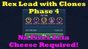 6 Million in Phase 4 with Rex Lead - No Fives Zeta Cheese Required!