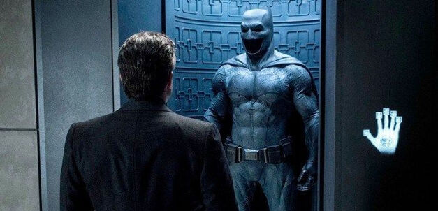 The Batsuit in Batman Versus Superman