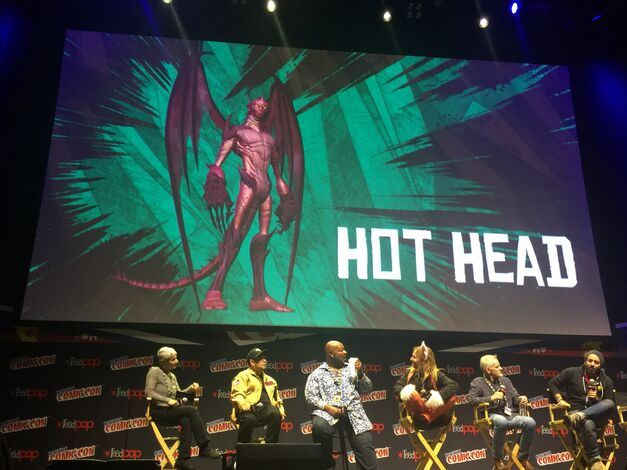 Hot Head TMNT revealed at NYCC