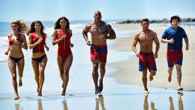 Hot 'Baywatch' Trailer Has Jokes, Beach Bodies, and Zac Efron in Drag