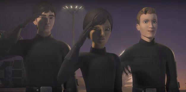Star Wars Rebels Season 3 - Wedge and Friends