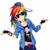 Fanka Rainbow Dash XD