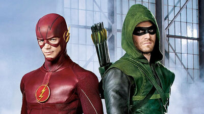 Arrow and The Flash