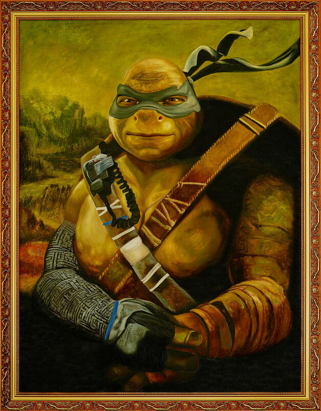 Leonardo - Ninja Turtles Painting