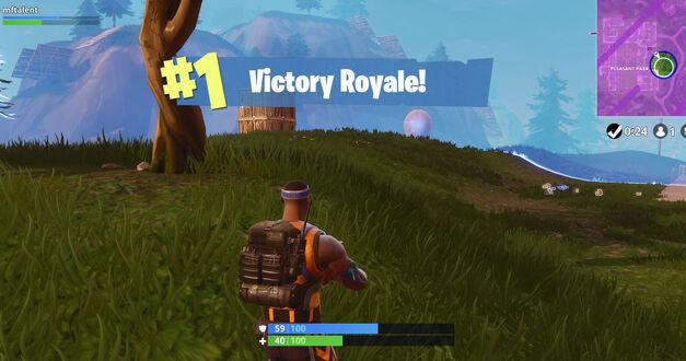 Super. Black. Victory Royale