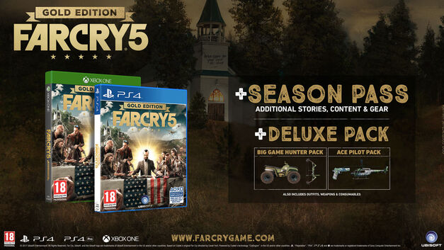 Far Cry 5 Collector's Edition Gold Edition