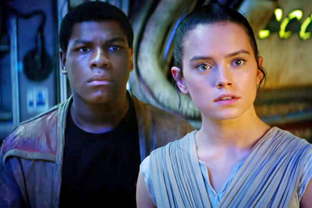 Star Wars - Finn and Rey