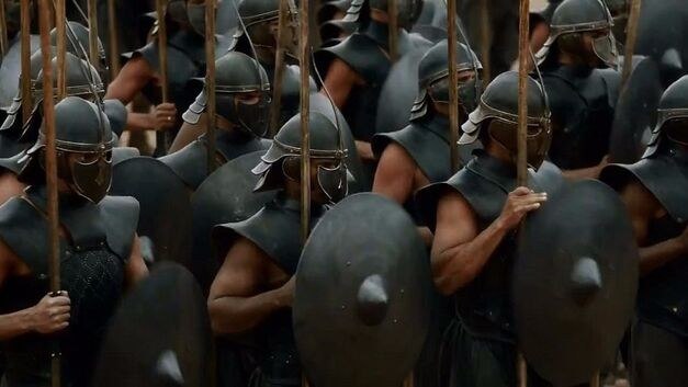 unsullied game of thrones  Halloween costume idea