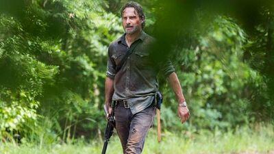 'The Walking Dead': Mystery Character Revealed on 'The King, The Widow, & Rick'