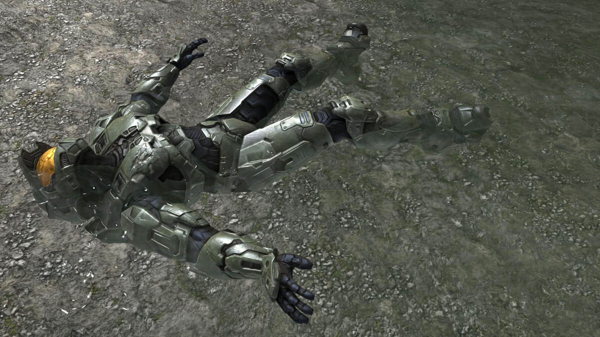 Halo Master Chief Water
