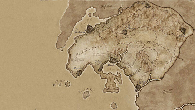 Hammerfell, Elder Scrolls