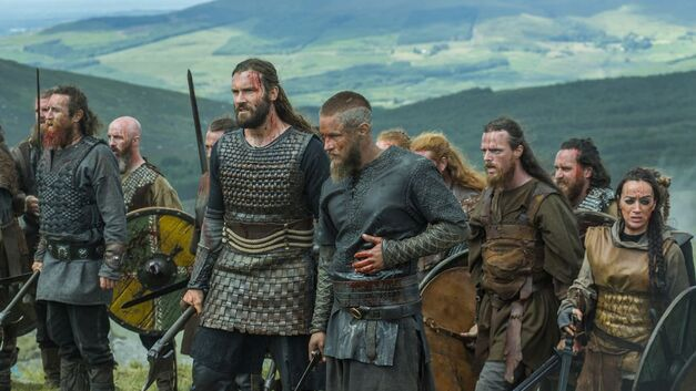 vikings season 3 battle wounds