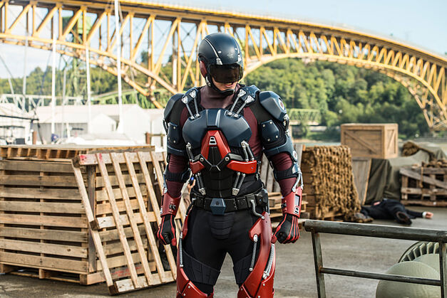 "Brandon Routh as Ray Palmer/Atom in the Legends of Tomorrow Season 2 premiere, ""Out of Time."""