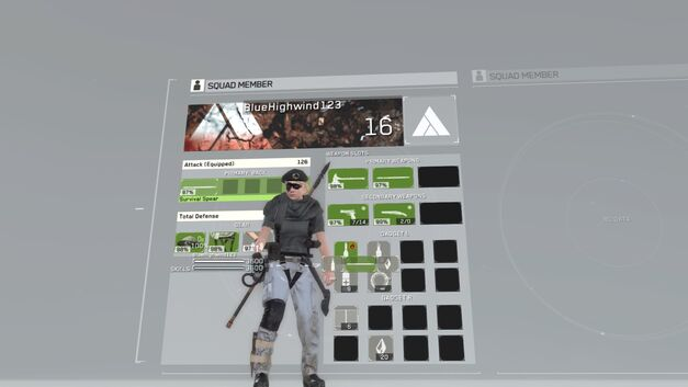 Metal Gear Survive main menu