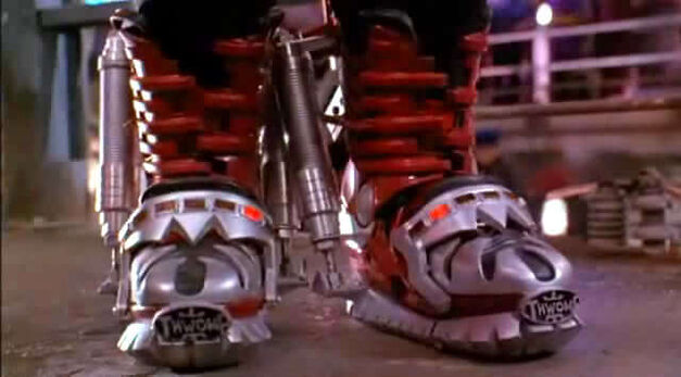 Super Mario Brothers movie red boots