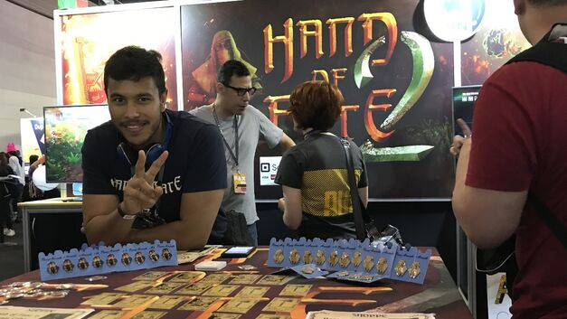 Hand of Fate 2 booth at PAX Aus