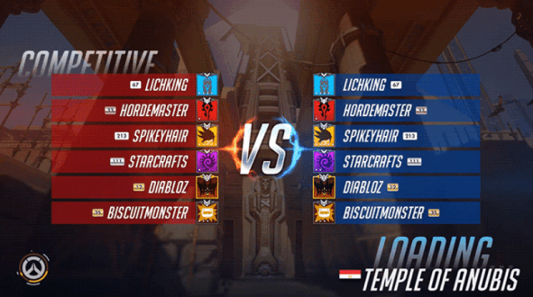 Competitive Mode Overwatch Battle
