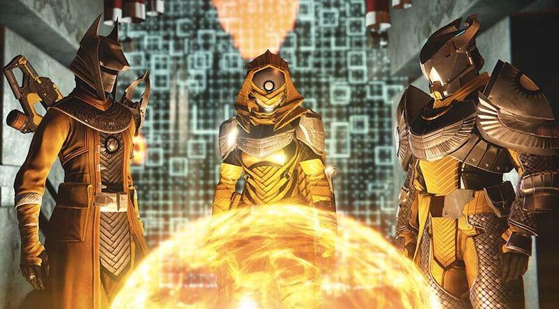 Guardians preparing for Trials of Osiris in Destiny Year 2