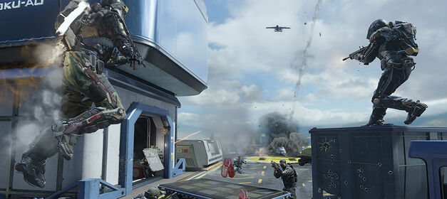 Call of Duty Timeline: Call of Duty: Advanced Warfare.