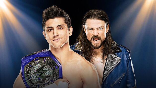 T.J. Perkins and The Brian Kendrick face off at WWE Clash of Champions