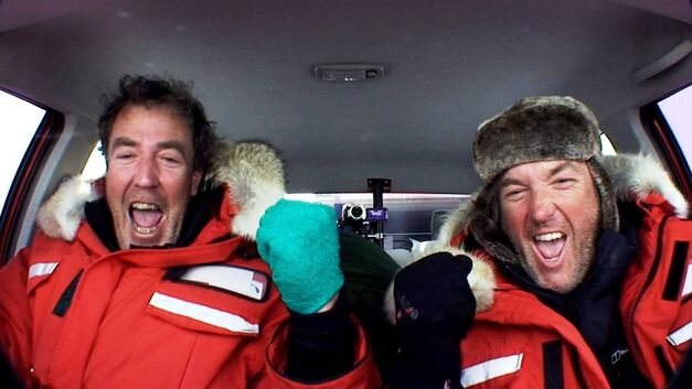Top Gear Polar Special Jeremy Clarkson James May Pole Winning