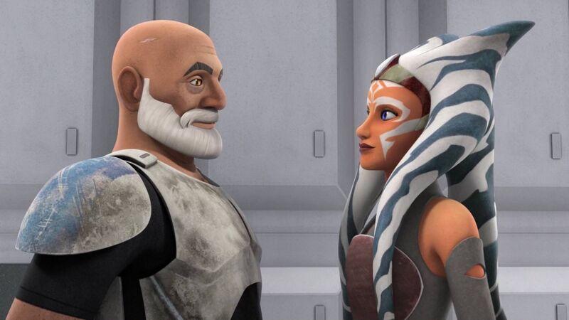 Star Wars Rebels: Captain Rex and Ahsoka Tano