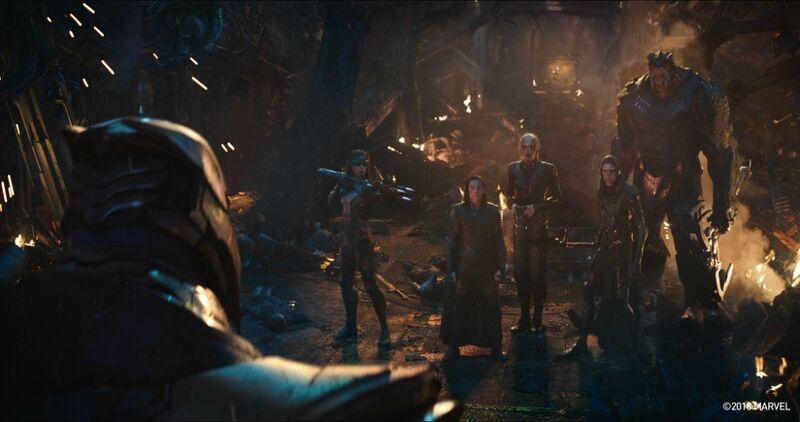 Digital Domain Avengers Infinity War Black Order