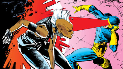 Cyclops vs. Storm: Who's More Powerful?