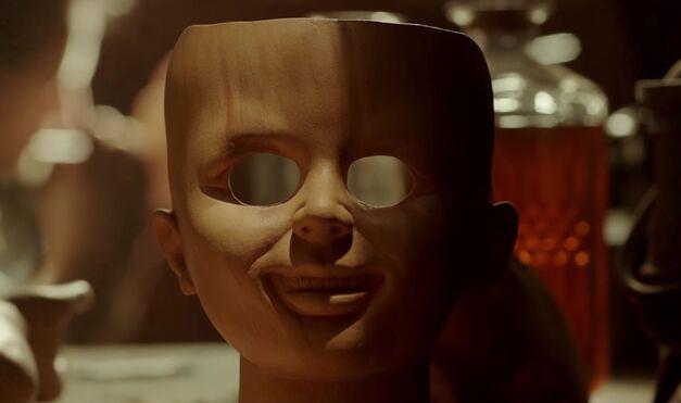 annabelle creation face