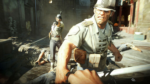 A screenshot of Dishonored 2.