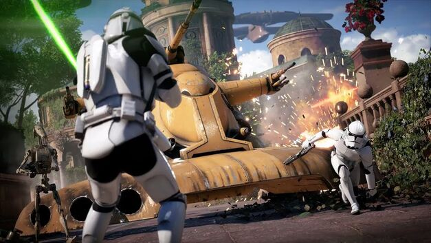 Star Wars Battlefront II galactic conquest