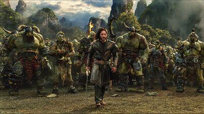 Travis Fimmel, Paula Patton, and Toby Kebbell Talk 'Warcraft'