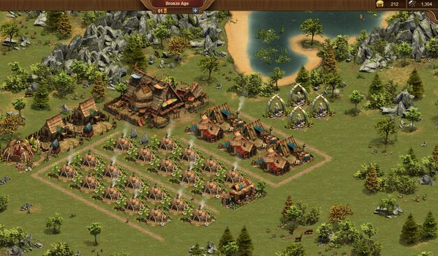 Forge of Empires buildings screenshot