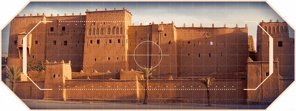 Dust 2 kasbah towers Taourirt Ouarzazate