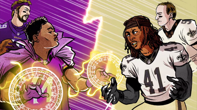 Doctor Strange Faces Off Against Black Panther in This Comic-Style NFL Preview