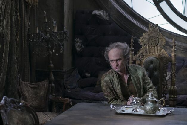Neil Patrick Harris in A Series of Unfortunate Events as Count Olaf