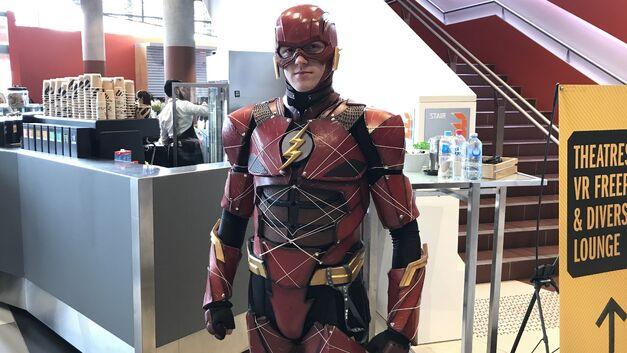 PAX Aus cosplay Flash