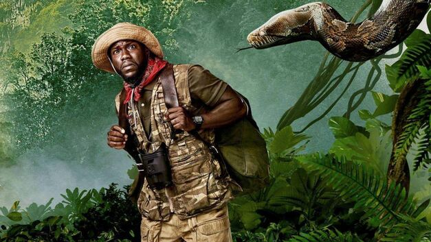 Kevin Hart in Jumanji