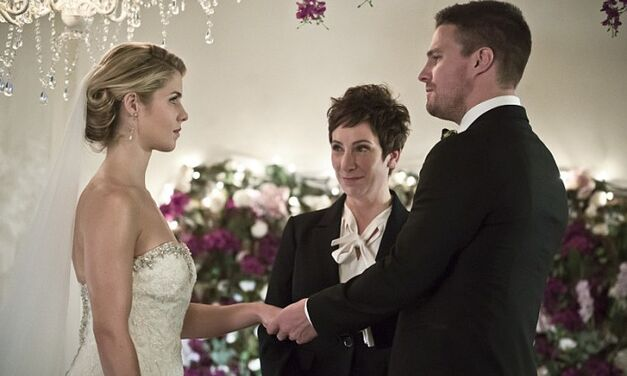 Olicity Wedding