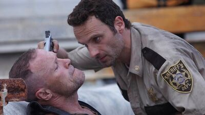 Looks Like Merle Still Has Beef With His 'Walking Dead' Nemesis Rick