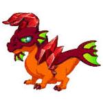 Garney the Garnet Dragon